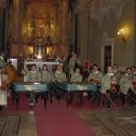 A zenekar a Szent Anna templomban