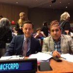 A Nemzetközi Lepramisszió delegációja az ENSZ-ben